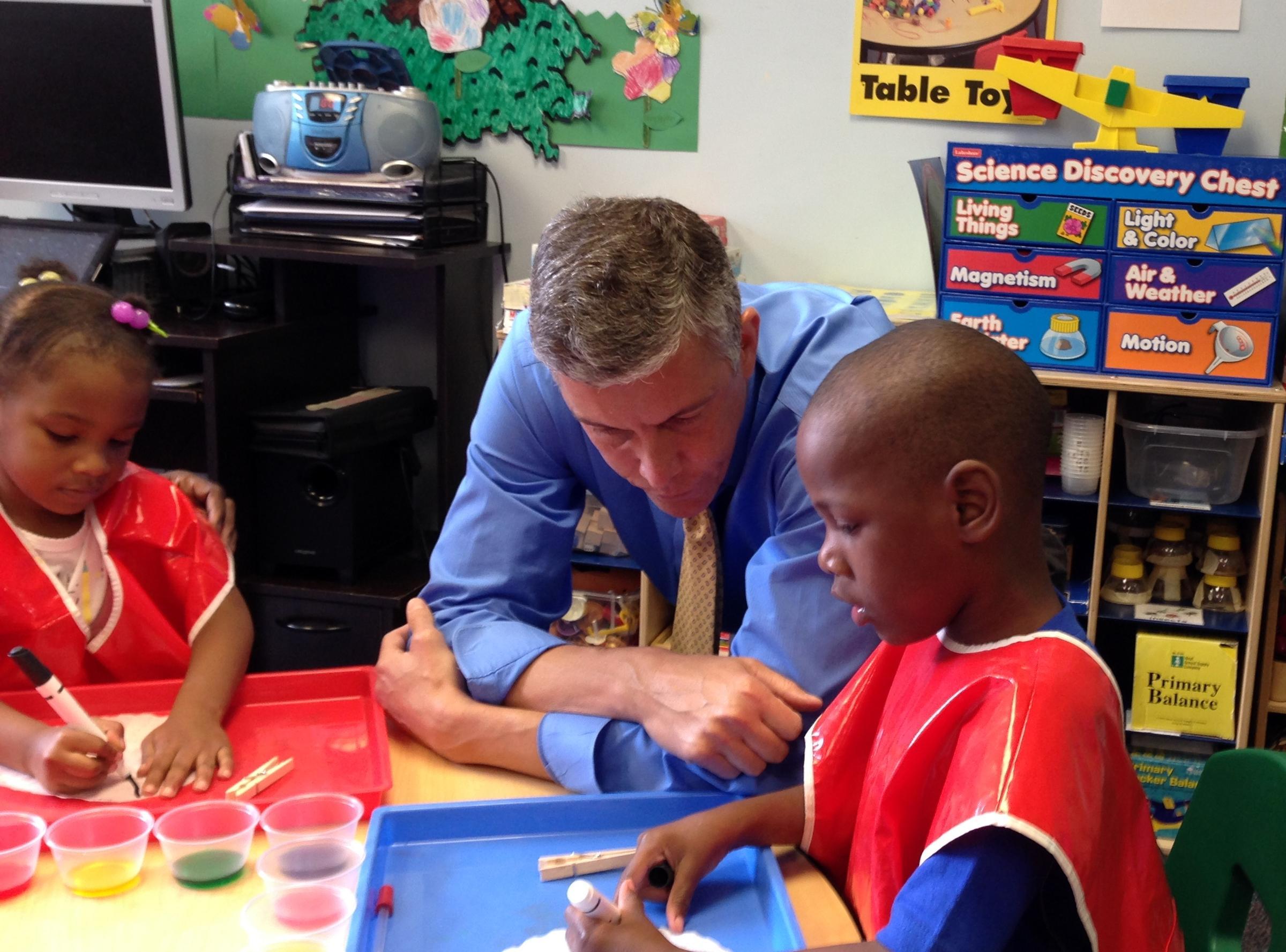 Us Education Secretary Talks Early Childhood Education During Stop