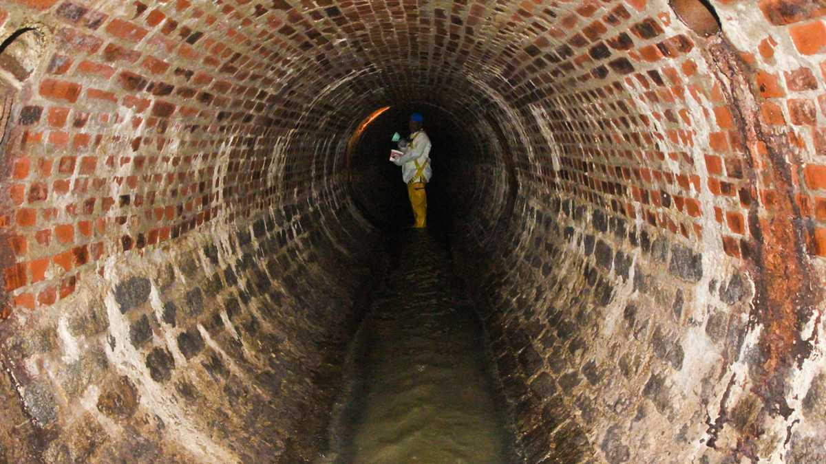 The state of sewer pipelines in pennsylvania 90 5 wesa for Sewage piping system