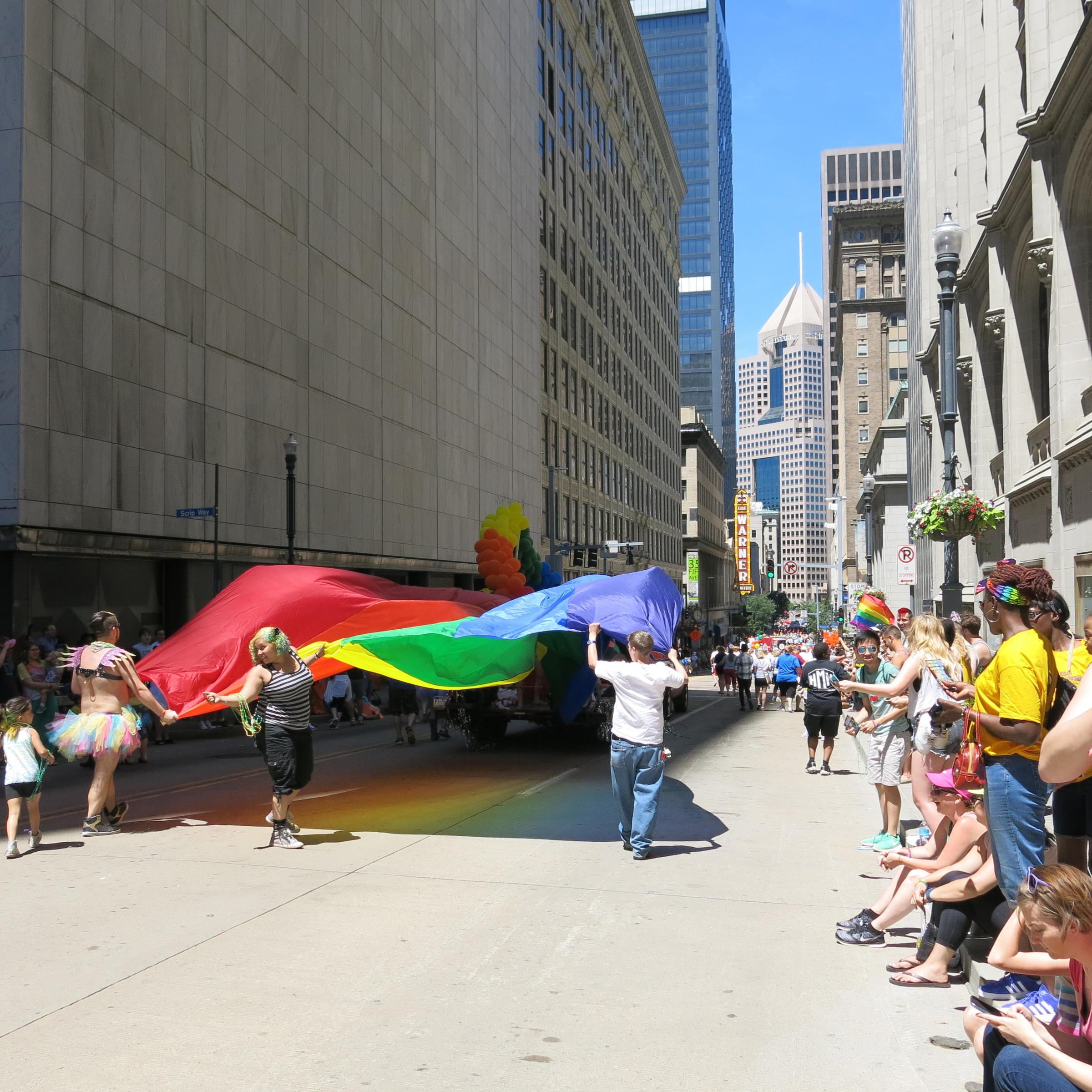 gay rights parade oct 2009