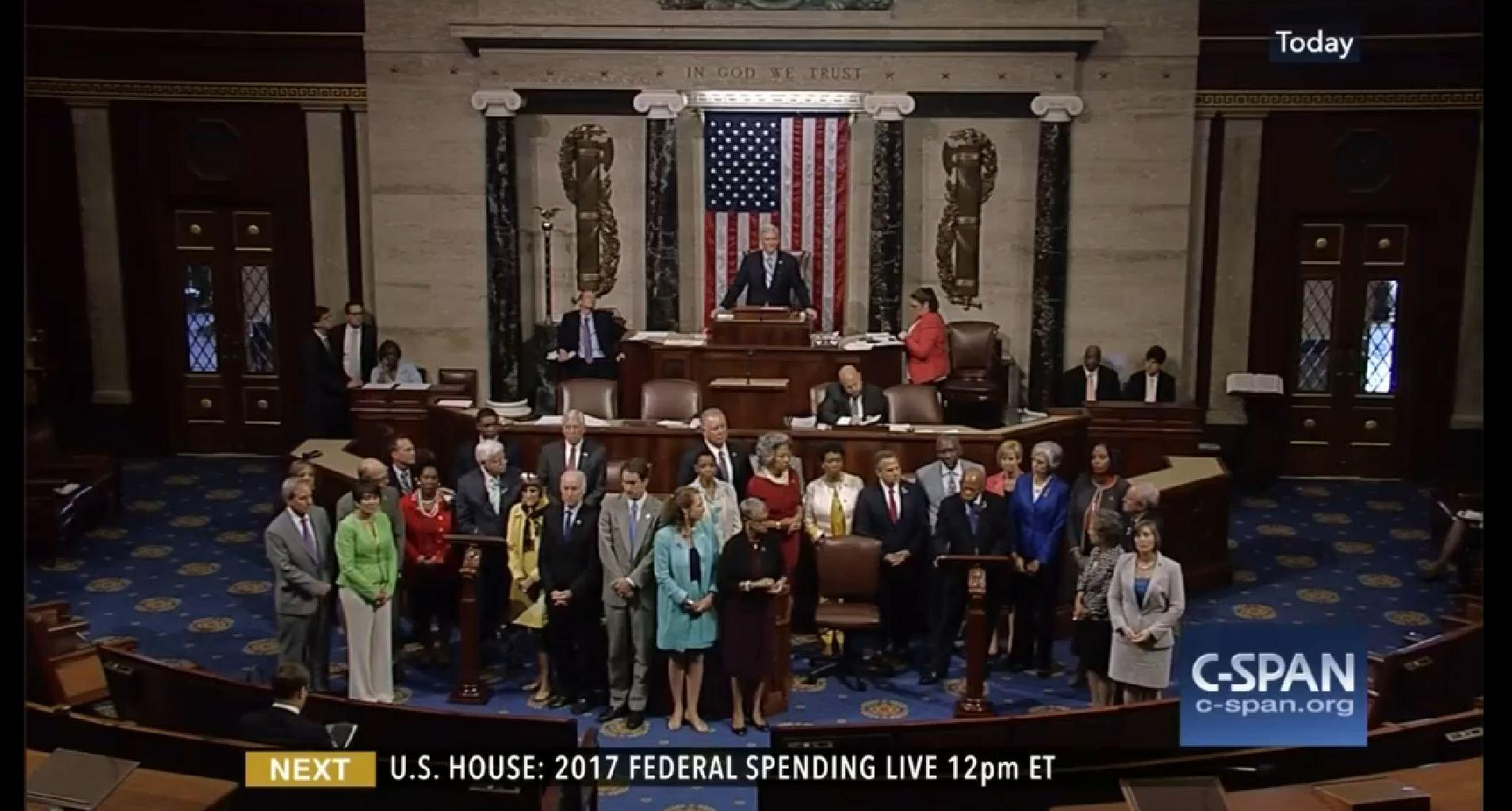 Rebellious Democrats Stage Sit In Protest In The US House