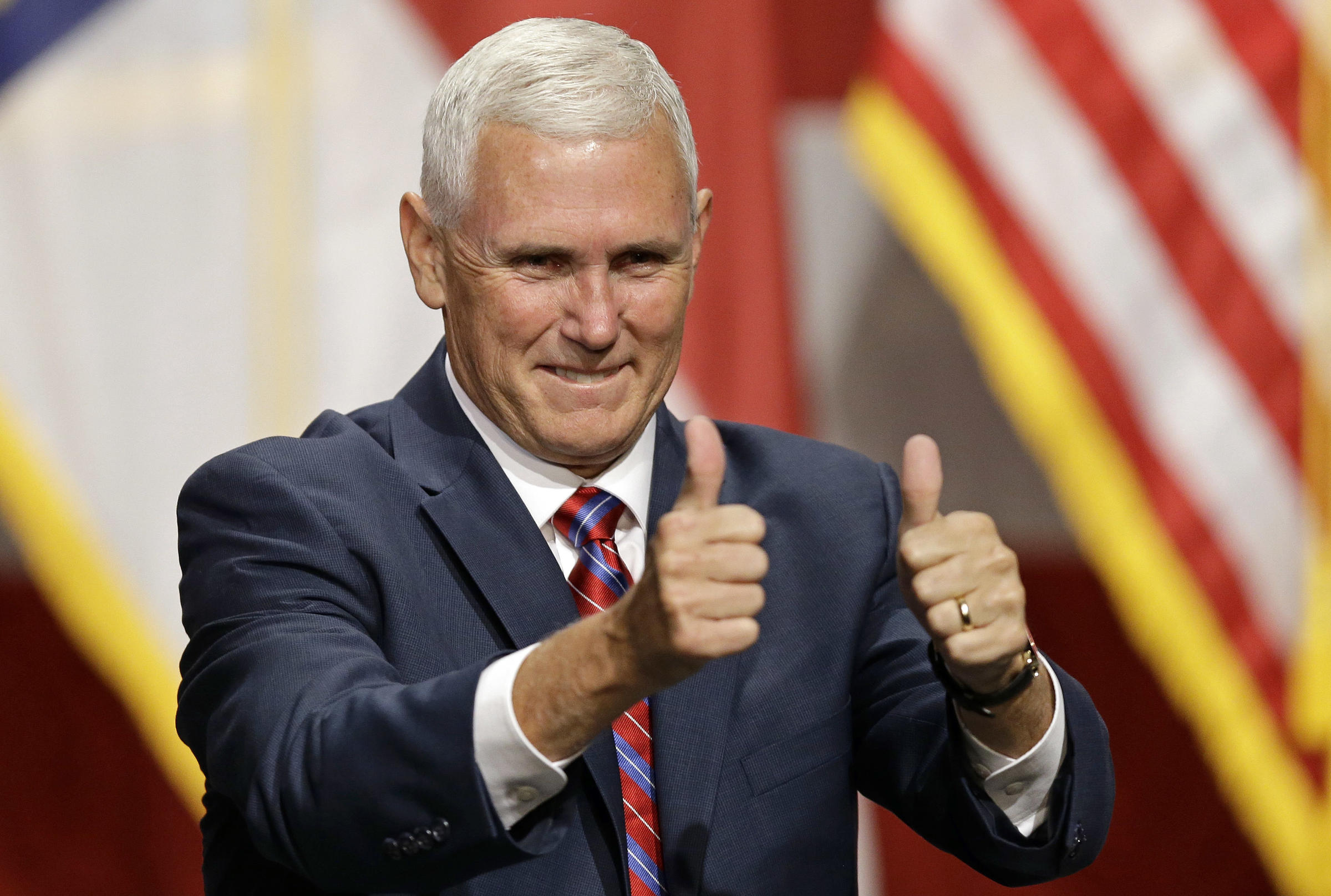 gop vp nominee mike pence at two pa events tuesday 90 5 wesa