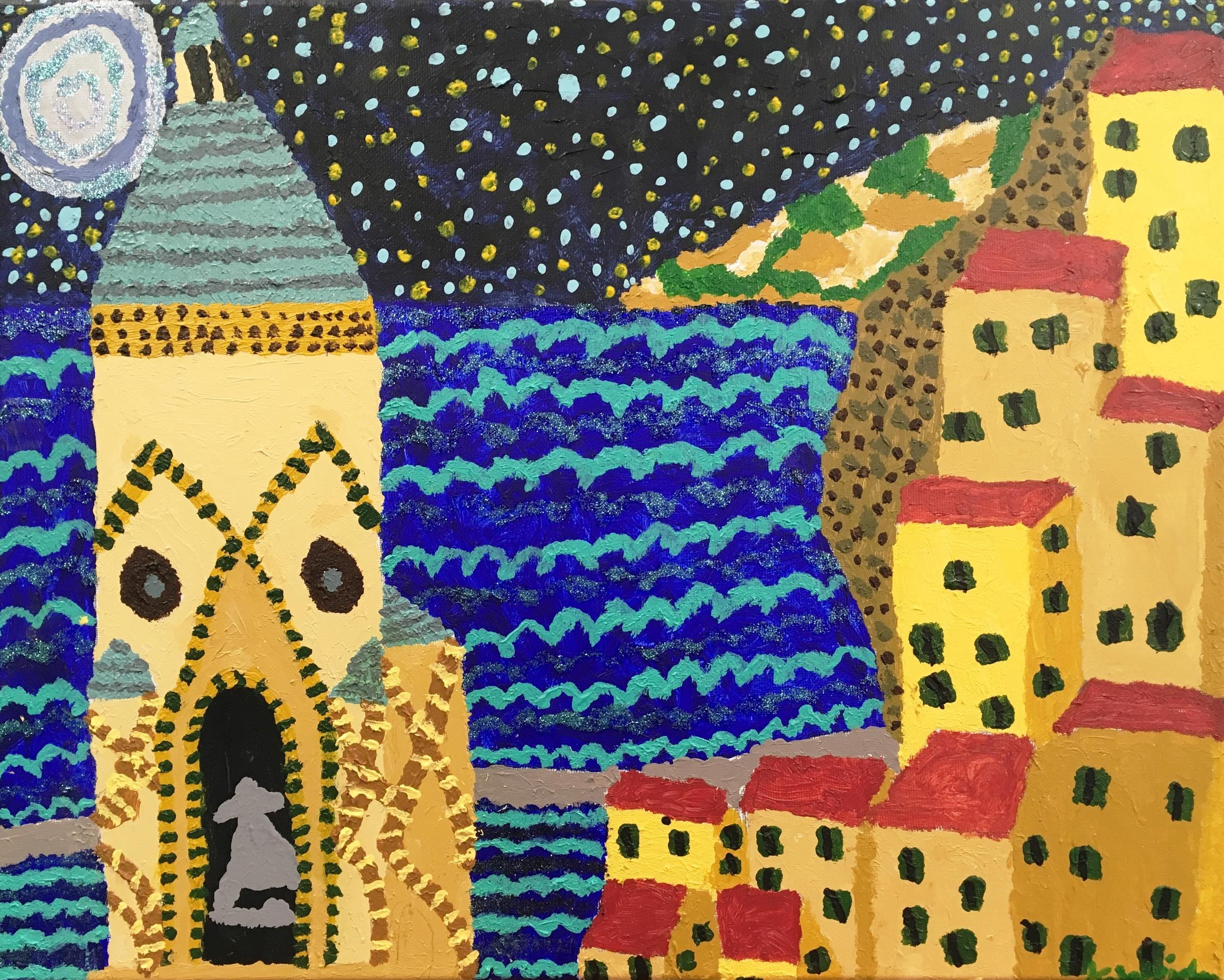 A painting by CLASS client Kim Weidman.