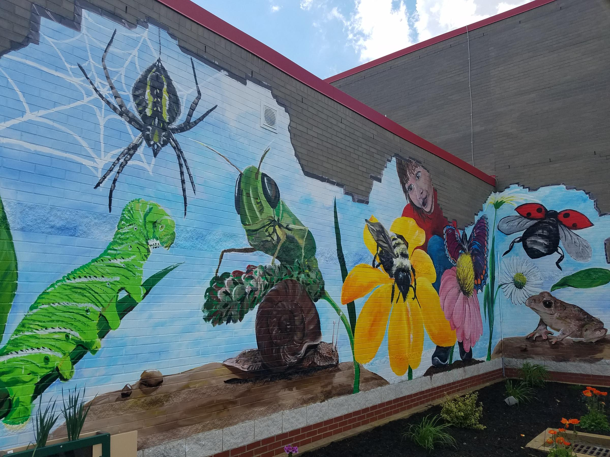 Classroom Mural Ideas ~ Fort cherry students explore messy science in new