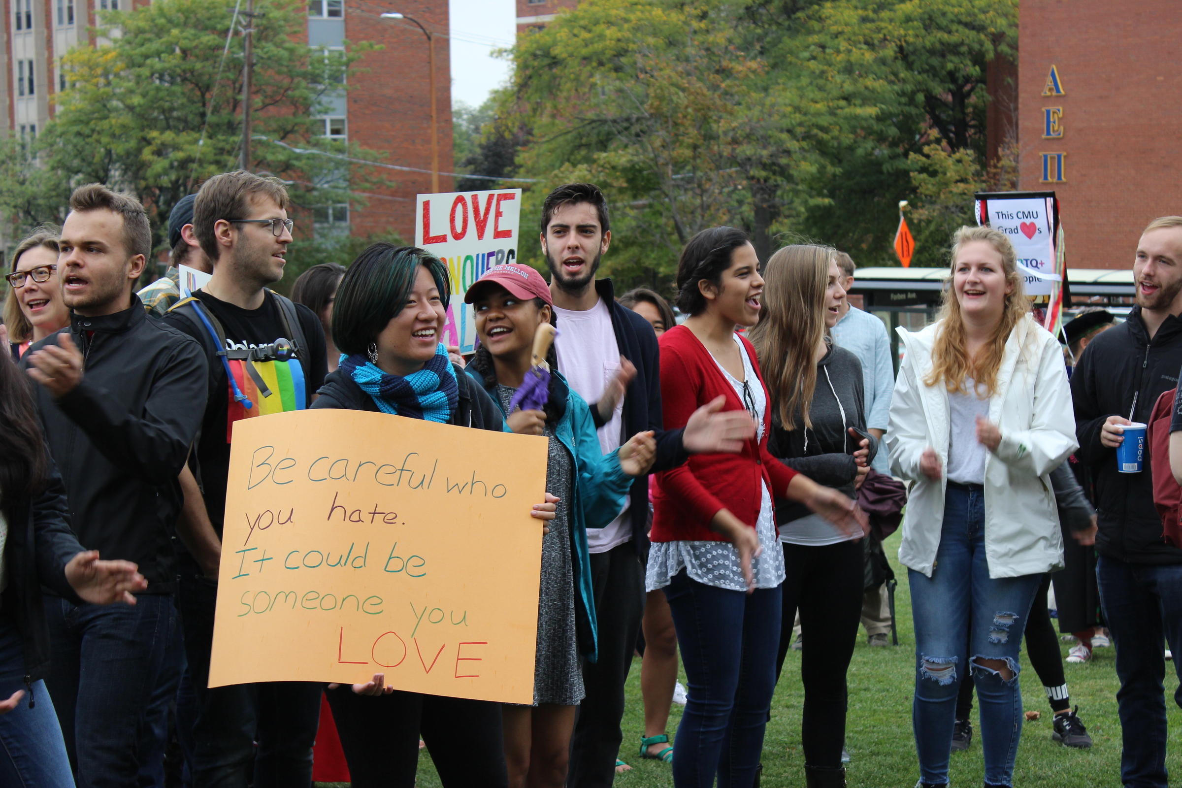 westboro protests in pittsburgh met by hundreds of counter