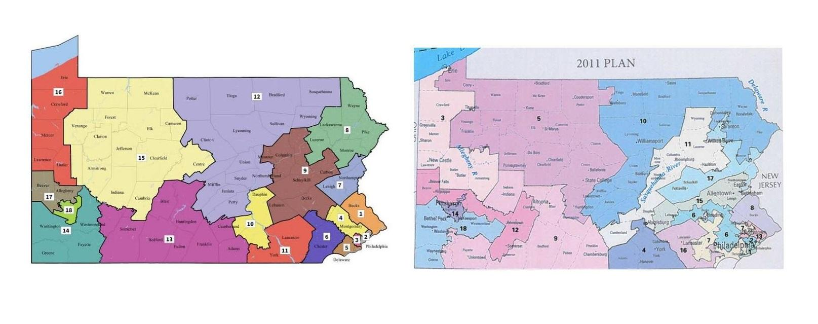 three federal judges will decide if the pennsylvania supreme court drawn congressional maps are consutionally sound the maps were created earlier this