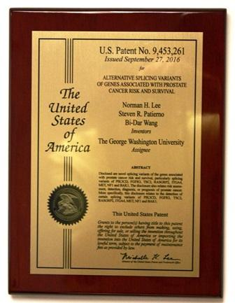 U.S. Patent No. 9,453,261 / Sept. 27, 2016