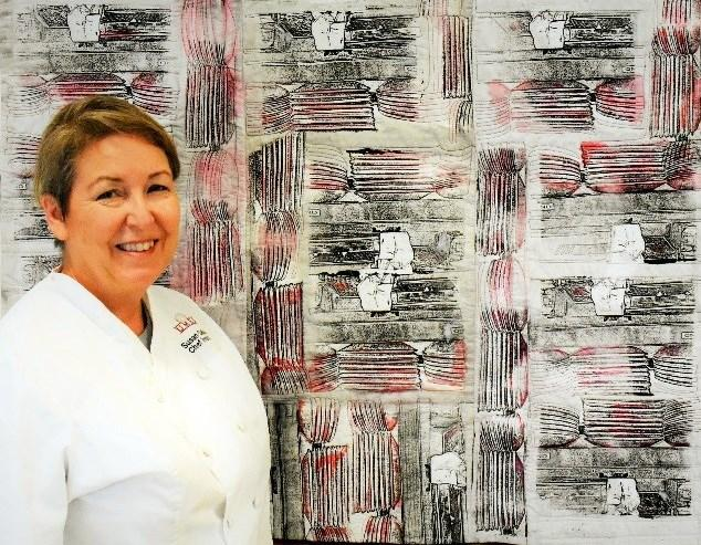 Susan Callahan; chef and quilt artist