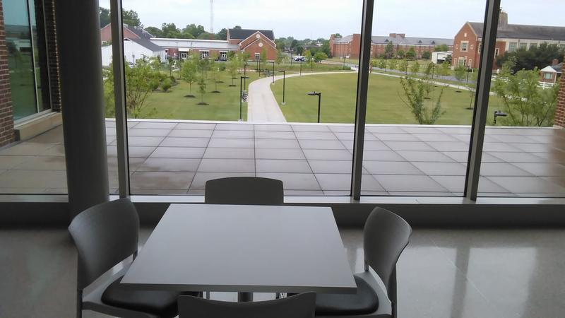 A view from the Engineering and Aviation Science Complex