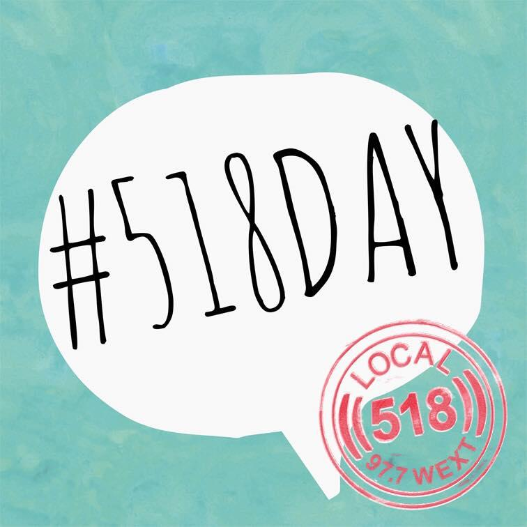 #Local518Day
