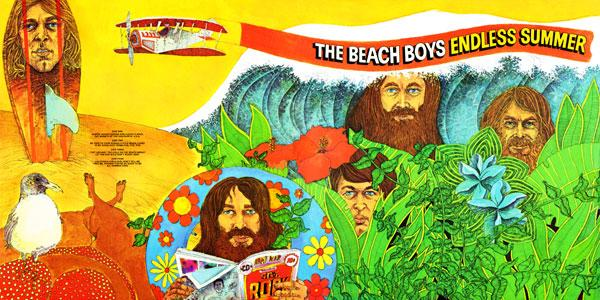 Beach Boys Endless Summer album cover (1974)