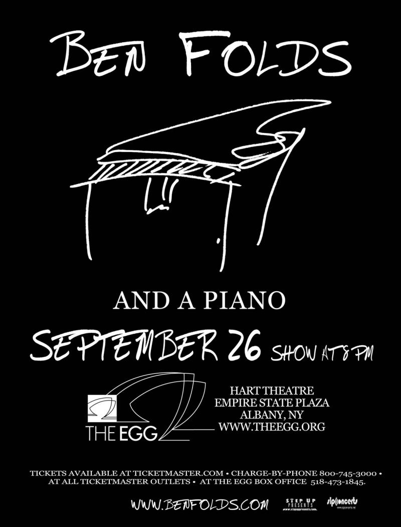 Ben Folds and a piano