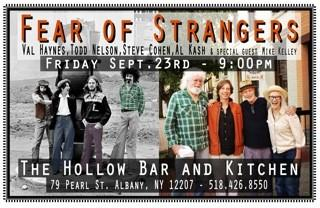 Fear of Strangers reunion concert
