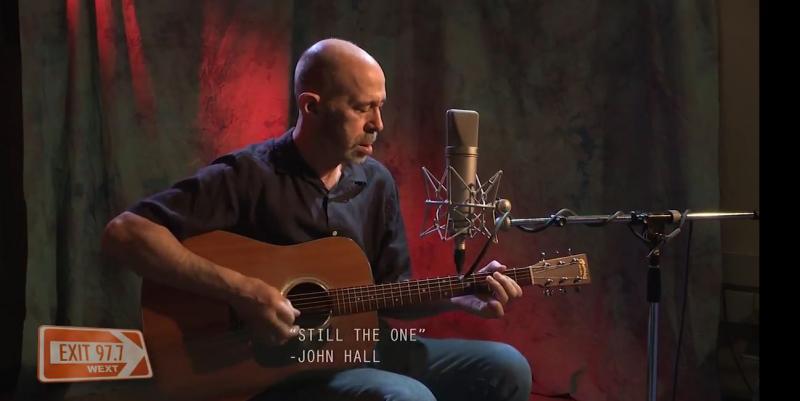 John Hall at WEXT