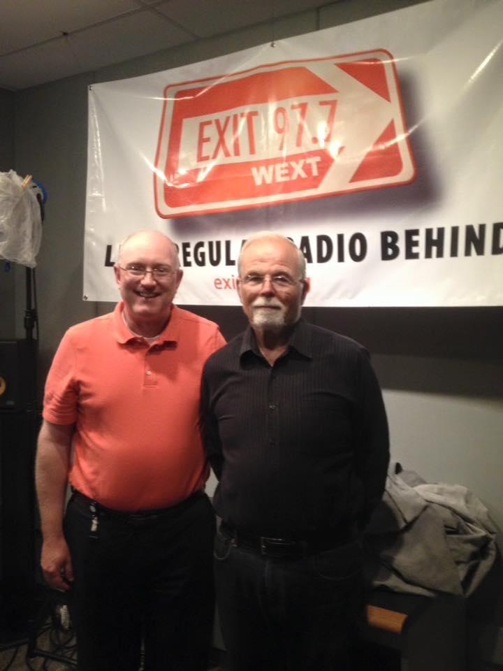 Marty Wendell with Chris Wienk