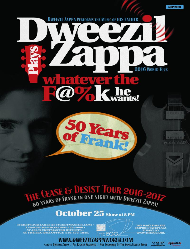 Dweezil Zappa at The Egg