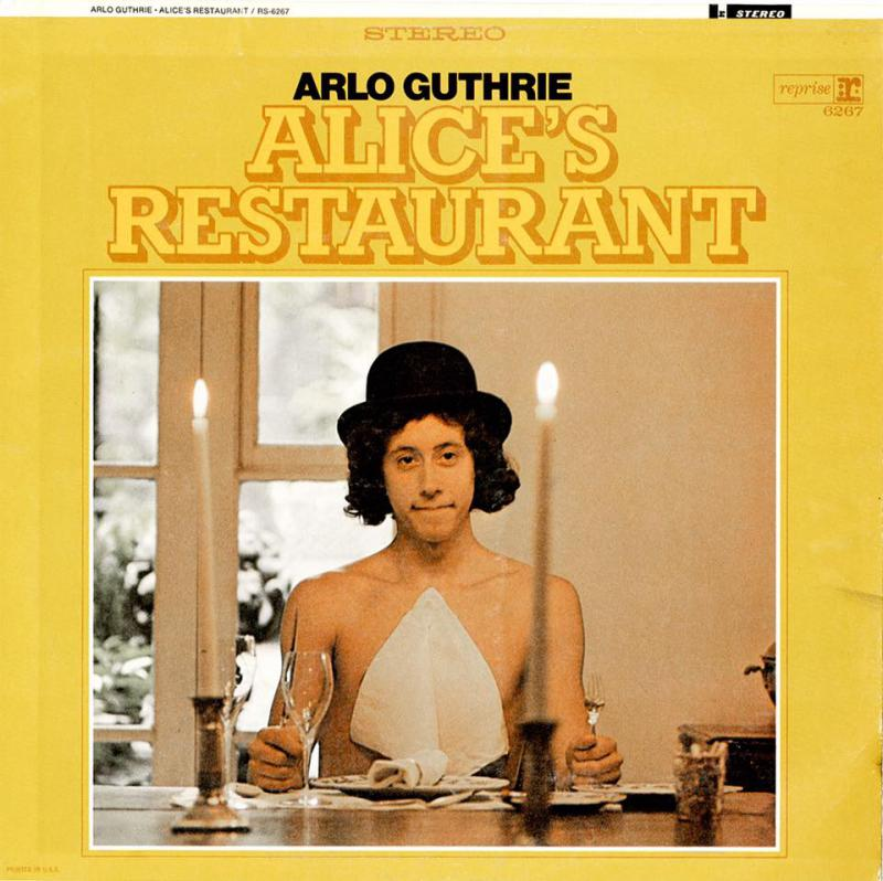 Arlo Guthrie's Alice's Restaurant album cover