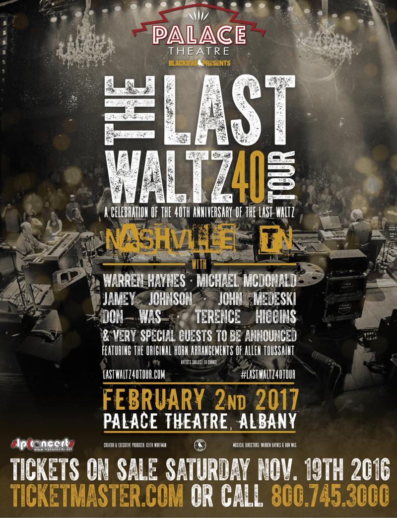 The Last Waltz 40 Tour