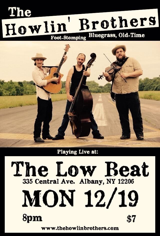 The Howlin' Brothers at The Low Beat