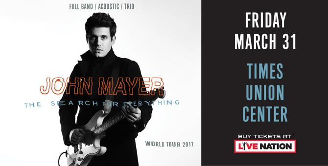 John Mayer Comes to Albany