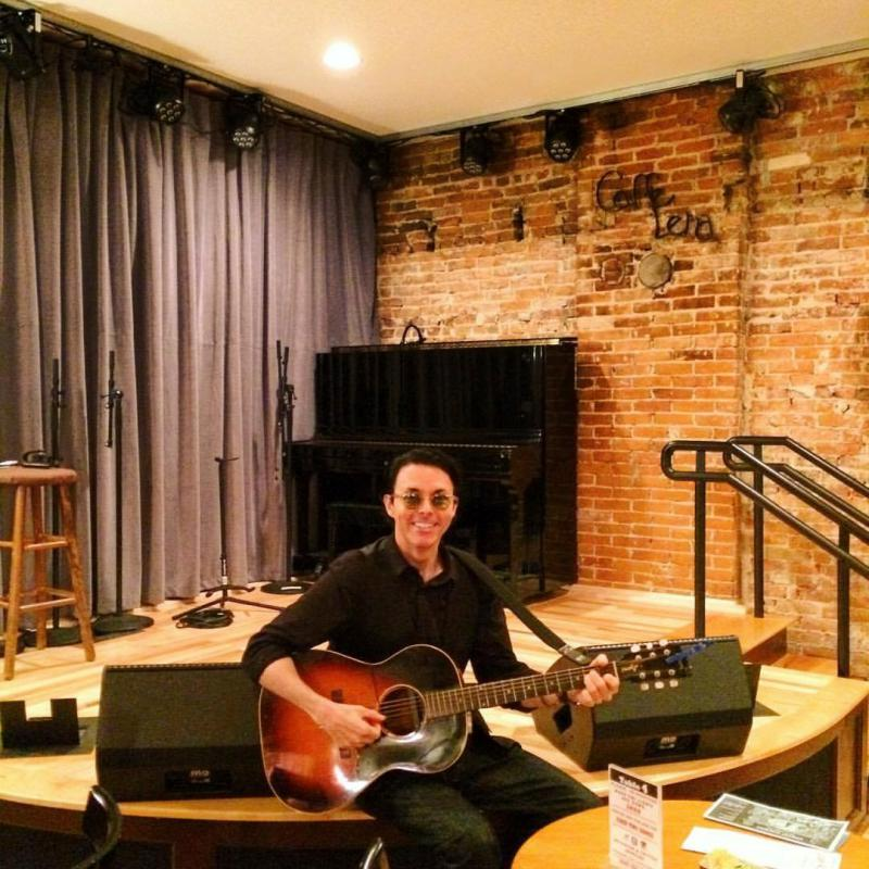 Richard Barone at Caffe Lena