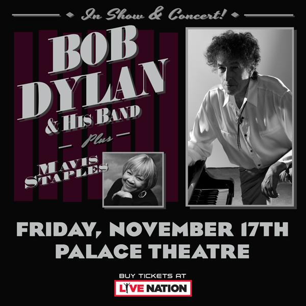 Bob Dylan and his Band at The Palace Theatre