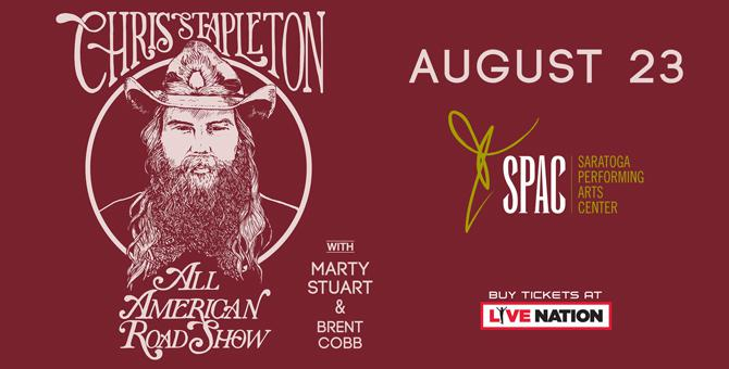 Chris Stapleton at SPAC '18