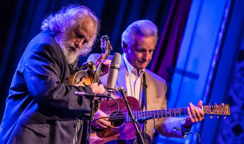 Del McCoury and David Grisman