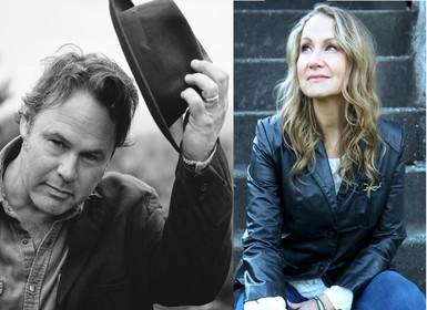 Martin Sexton and Joan Osborne