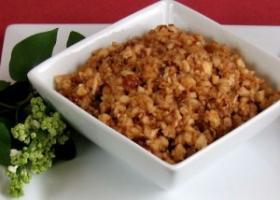 Passover haroset. Find recipe below.