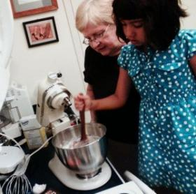 Do you have fond memories of baking with your mom or grandmother?