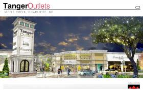 Rendering of proposed Tanger Outlets