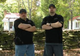 Jason Porter, left, and Mat Owens run Carolina Paranormal Society and join us today.