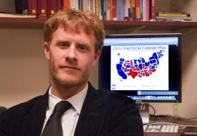 Josh Putnam of Davidson College was one of a handful of election watchers to call the presidential race accurately.