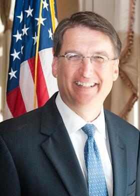 North Carolina Governor-elect Pat McCrory