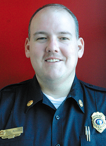 Jeremy Russell first joined the Mint Hill volunteer fire department in 1994.