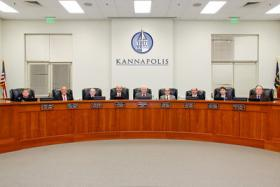 The Kannapolis City Council voted to pursue bonds to finance a new City Hall building and police headquarters in the summer of 2013.