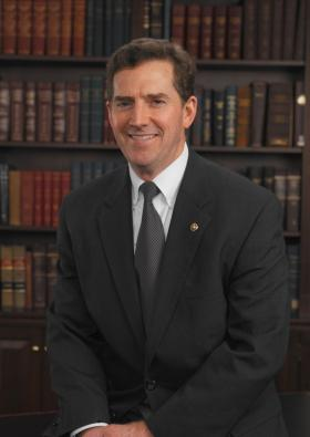 U.S. Senator Jim DeMint is stepping down in January to become president of The Heritage Foundation.