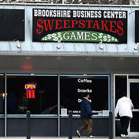 Brookshire Business Center Sweepstakes Games along the 3700 block of Brookshire Blvd. on Wednesday, January 2, 2013