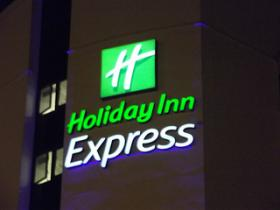 A Holiday Inn Express hotel.