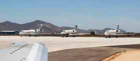 Officials at the Charlotte-Monroe Executive Airport expect more corporate air fleets will land on the tarmac, once the airport can accept international flights.