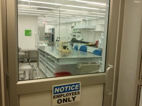 Behind a locked door, Medi-Fare has a state-of-the-art compounding facility.