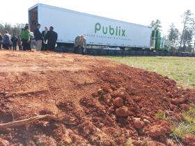 Publix broke ground Thursday on this plot of land in Ballantyne.