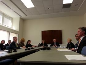 The Airport Governance Study Oversight Committee held its first meeting Thursday afternoon.
