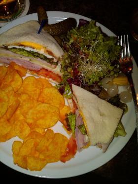 The sandwich!