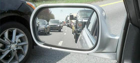 Traffic on I-77, Sunday afternoon.