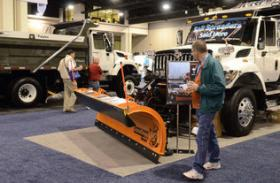 The American Public Works Association opened its snow conference at the Charlotte Convention Center Sunday.