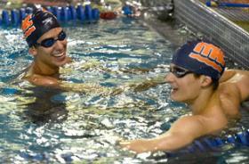 Michael Chadwick and Matthew Josa, SwimMAC teammates, will compete at Charlotte UltraSwim.