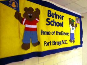 Butner Primary School, on Fort Bragg, lost about 2/3 of its budget from prior years, according to Department of Defense data.