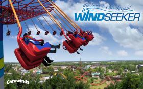 The WindSeeker ride opened in 2012.
