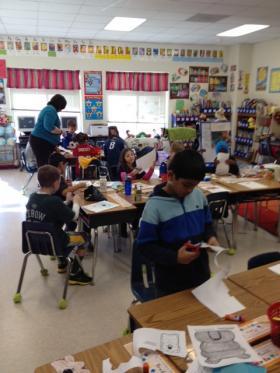 A CMS second grade class.